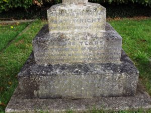 Wright T Family Grave 2