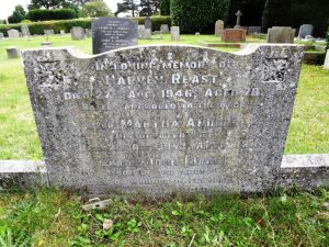 Reast J Family Grave 1