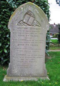 Dawson family grave