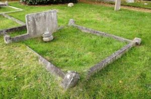 Joseph and Eliza's Grave, which also contains William's Remains